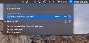Instant Hotspot på Mac er nyt i iOS 8.1