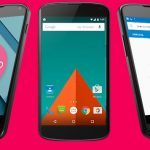 Android 5.0 på Nexus 4