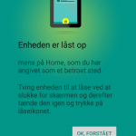 Android sikkerhed - Sikker placering info