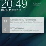 HTC One M8 med Sense 6 - notifikationer