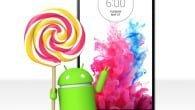 LG påbegynder udrulningen af Android 5.0 Lollipop til G3 i denne uge. Udrulning sker løbende.