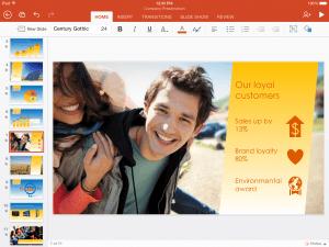 PowerPoint på iPad