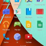 Screenshot Android 5.0 Lollipop