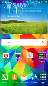 Der er ikke meget nyt under solen med Samsungs Lollipop opdatering til Galaxy S5.  Billede: Sammobile