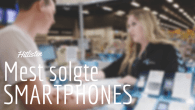 HITLISTE: Ingen overraskelser på salgshitlisterne for maj måned. Se her hvilke telefoner der lige nu sælger bedst i Danmark.