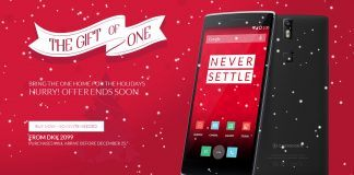 OnPlus One i Julehumør