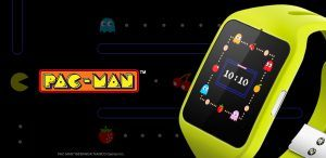 PacMan Android Wear urskive