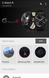 Android Wear app opdatering (Foto: MereMobil.dk)