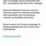 Reducer dataforbruget i chrome
