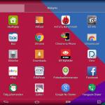 LG G Pad 10.1 app menu