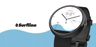 Surfline Android Wear urskive