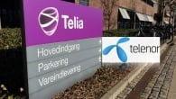 Telia og Telenor lægges i 2015 sammen og bliver én fælles teleoperatør.