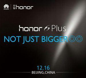 Huawei Honor 6 Plus (Foto Huawei)