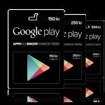 Google Play Gavekort