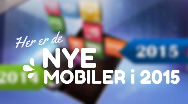 Nye mobiler i 2015