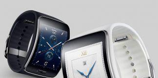 Samsung Gear S i sort og hvid
