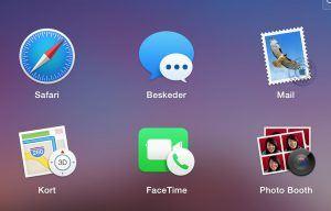 Beskeder på Mac