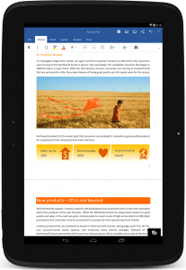 Microsoft Office på Android
