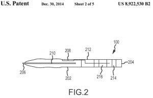 Patenttegning på en Apple smartpen