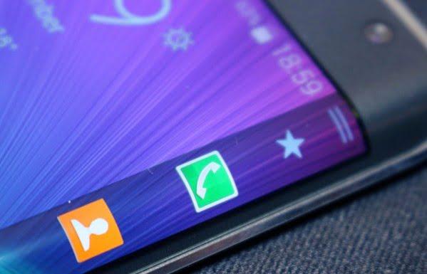 Samsung Galaxy S Edge er måske navnet på en ny S-model fra Samsung (Concept-image)