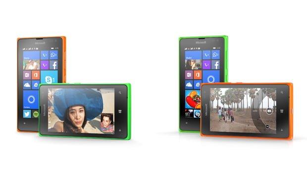 Lumia 435 og Lumia 532