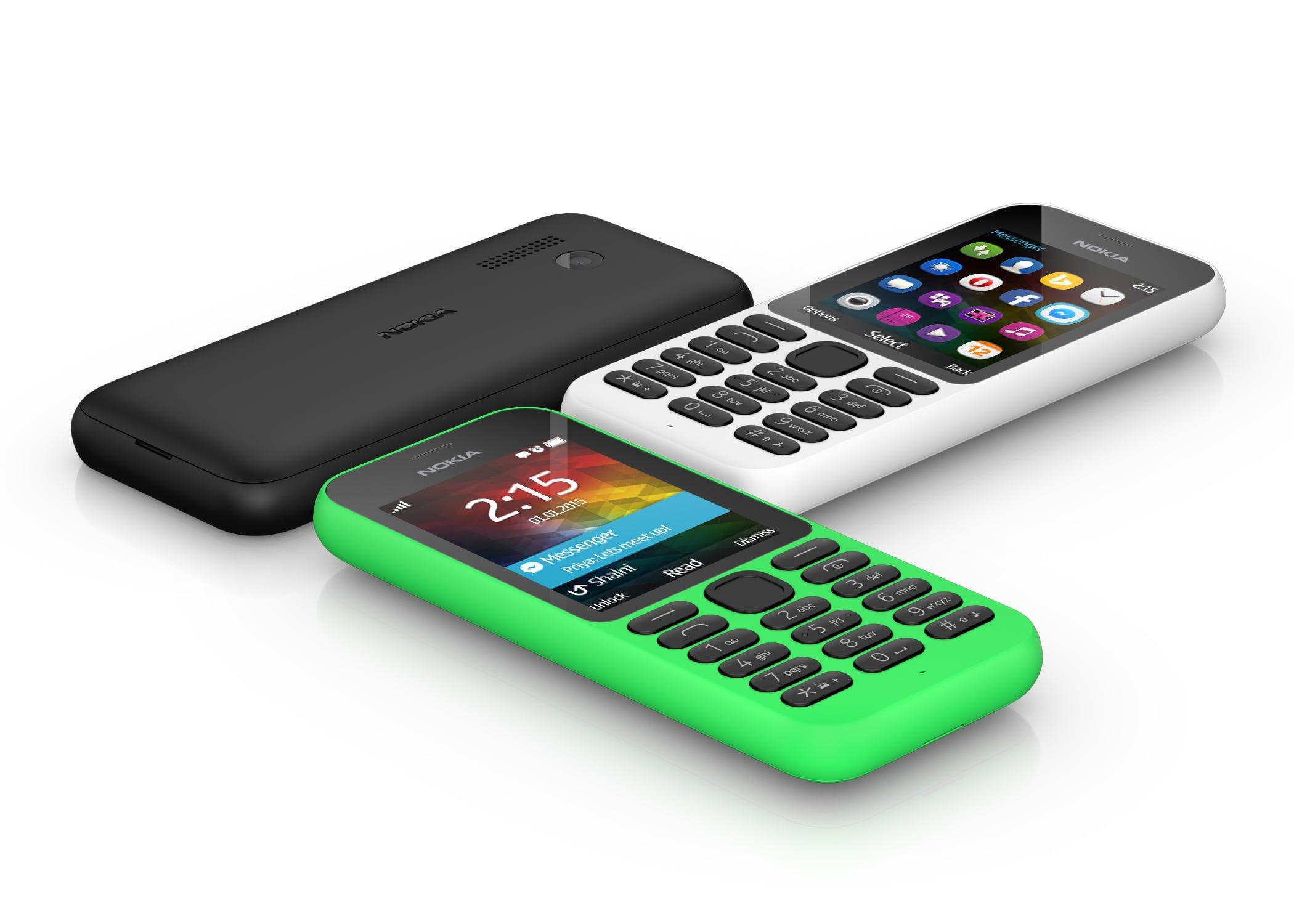 mobil med taster