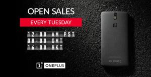 Åbent salg af OnePlus One
