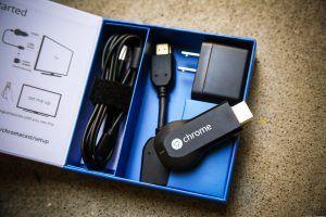 Chromecast - indhold i boksen