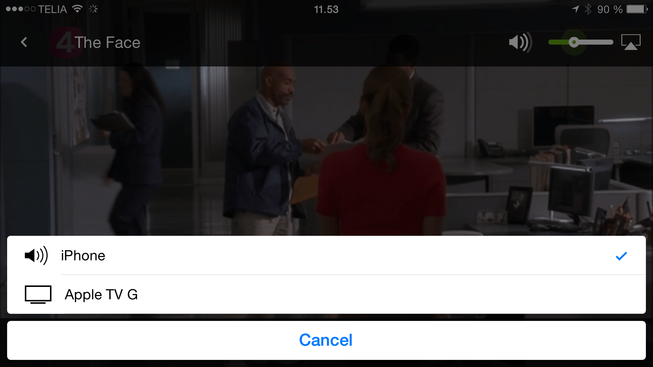 yousee app på apple tv