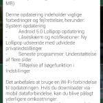 Android 5.0 Lollipop til HTC One M7