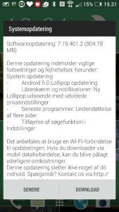 Android 5.0 Lollipop til HTC One M7