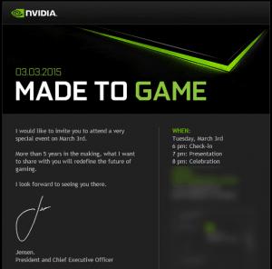 Nvidia presseinvitation