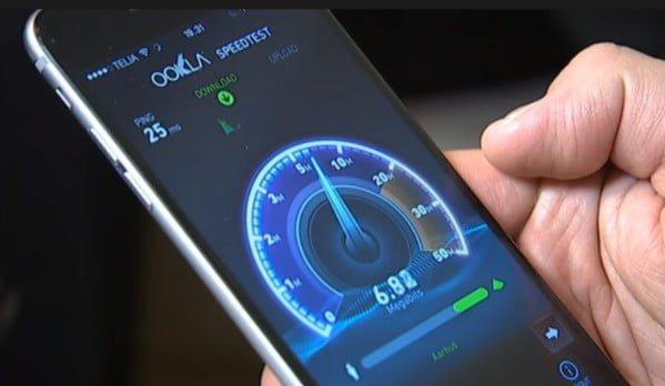 Hastighed, speedtest, internet