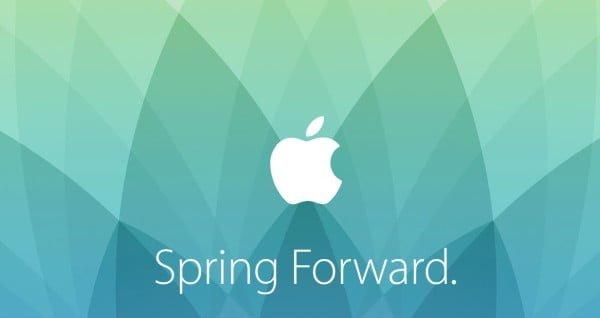 Apple Spring Forward event bliver holdt den 9. marts 2015