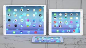 iPad Plus mockup