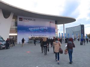 Indgangen til Mobile World Congress 2014 (Foto: MereMobil.dk)