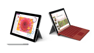 Ny, billigere og lettere Surface 3 fra Microsoft – en fuldblodsoplevelse i et kompakt design med hurtig hardware.