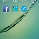 Screenshot fra Samsung Galaxy S6 / S6 Edge
