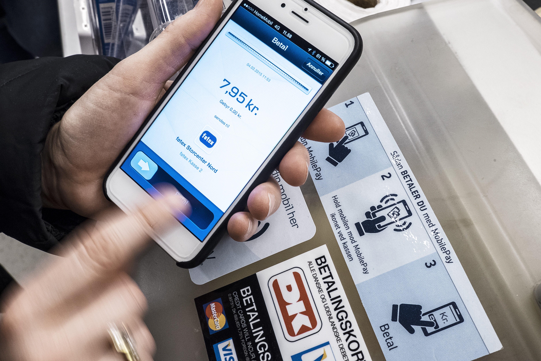 MobilePay er nede – husk kontanter eller Dankort