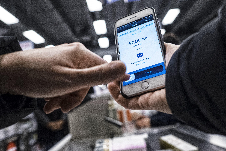 kan man betale med mobilepay i føtex