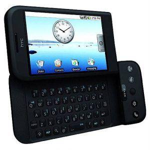 HTC Dream blev verdens første Android telefon.