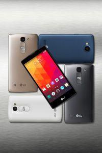 LG Spirit 4G LTE, LG Leon og LG Joy (Foto: LG)