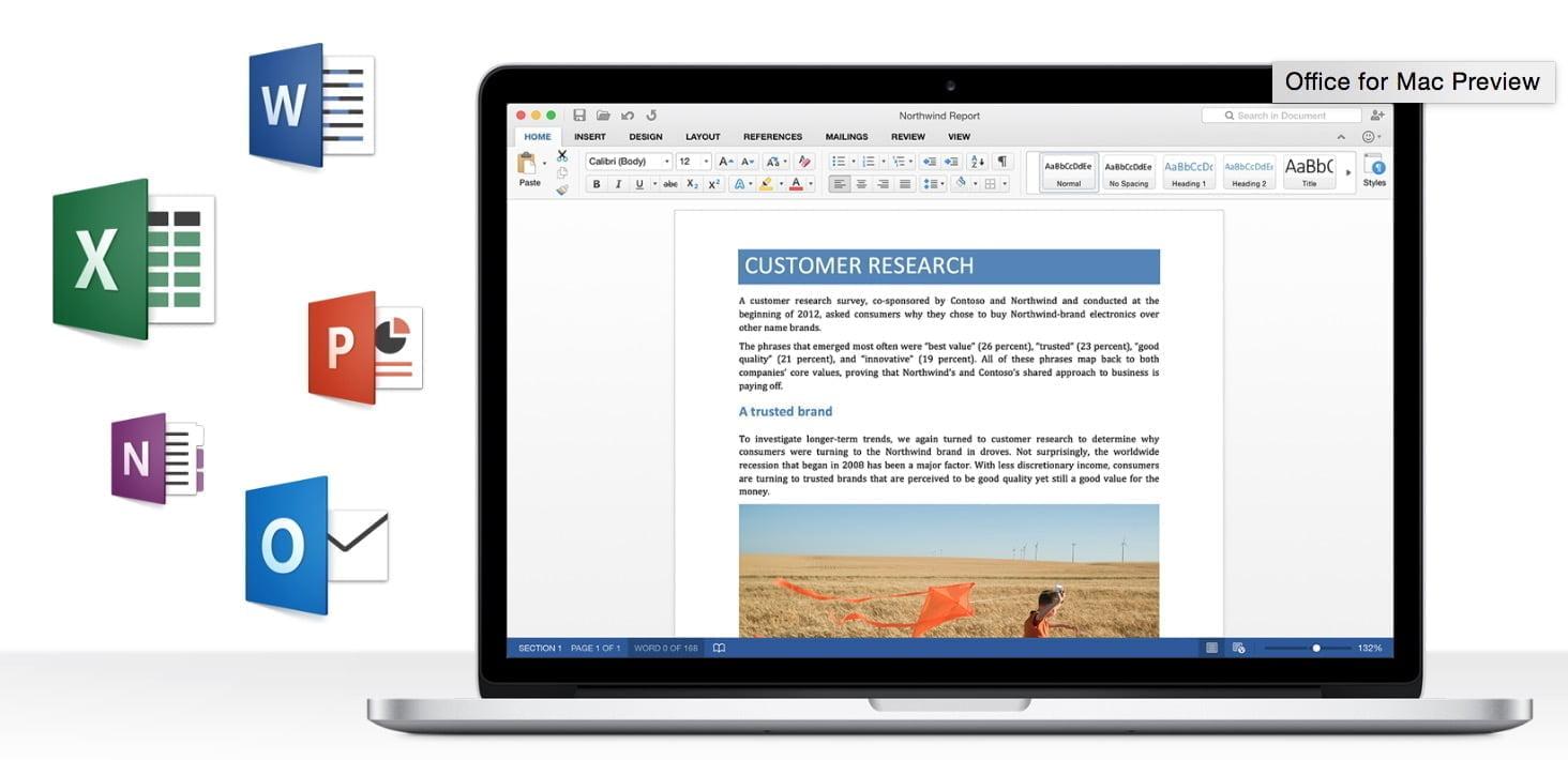 Office 2016 er nu i preview p mac - Er finestra mac ...