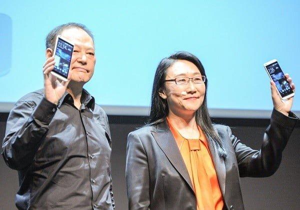Peter Chou og Cher Wang