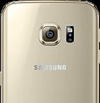 Samsung Galaxy S6 Edge bagside - guld