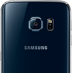 Samsung Galaxy S6 Edge bagside - sort