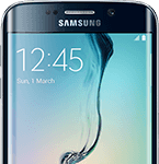 Samsung Galaxy S6 Edge - front - sort