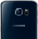 Samsung Galaxy S6 - bagside - sort