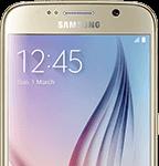 Samsung Galaxy S6 - front - guld