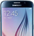 Samsung Galaxy S6 - front - sort